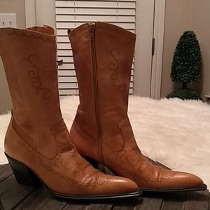 Collin Stuart Collection Cowgirl Boots Size 8